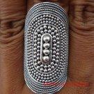 Large Sterling Silver Handmade Unisex Designer Ring SR-141-KT