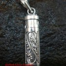 Hand Made 925 Silver Bali Cremation / Keepsake Pendant PP-385-KT