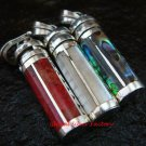 3x 925 Silver Cremation, Ashes, Perfume Pendants SSB-306-GSF