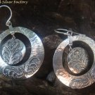 Large Sterling Silver Bali Dangle Earrings SE-242-KT