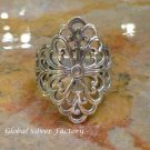 Sterling Silver Balinese Filigree Ring SR-212-KA