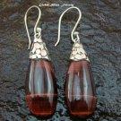 925 Silver Pietersite Teardrop Earrings ER-566-NY