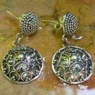 Sterling Silver Balinese Traditional Style Stud Earrings SE-252-KA