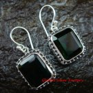 925 Silver Green Quartz Earrings ER-609-KT
