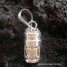925 Silver Heart Design Perfume Pendant PP-155-KT