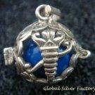16mm Sterling Silver & Scorpion Harmony Ball Pregnancy Pendant HB-381-KT