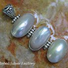 Sterling Silver and Mabes Pearl Pendant SP-801-KA