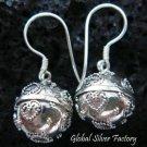 925 Silver Heart Chime Ball Earrings CBE-111-KT