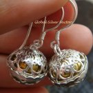 925 Silver Bali Harmony Ball Earrings CBE-152-KT