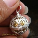 Sterling Silver Chime Ball Pendant 18mm CH-100-KT