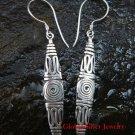 Sterling Silver Bali Tribal Earrings SE-194-KT