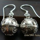 Sterling Silver Balinese Chime Ball Earrings CBE-127-KT