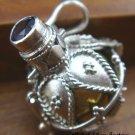 25 Silver Amethyst & Brass Harmony Ball HB-258-KT