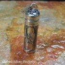 Filigree Handcrafted Perfume Pendant PP-497-KA