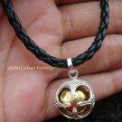 925 Silver Chakra Chime Ball Bracelet CH-320-KT
