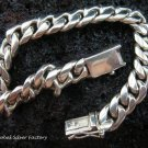 Sterling Silver Modern Style Men's Bracelet MJ-106-PS