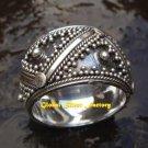 Lavish Bali Sterling Silver Unisex Ring SR-134-KT