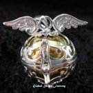 16mm Angel Wings Harmony Ball Pendant HB-318-KT