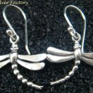 Petite 925 Silver Dragonfly Earrings SE-219-KT