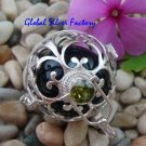 925 Silver Turquoise Harmony Ball Pendant HB-363-KT