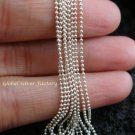 Sterling Silver 102cm Prayer Bead Chain SCC-136-KT