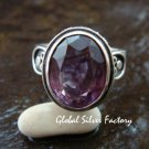 Sterling Silver Amethyst Cocktail Ring RI-397-KT