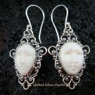 Sterling Silver Goddess Earrings GDE-919-NY