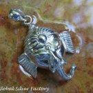 Sterling Silver Ganesha Pendant SSP-158-KT