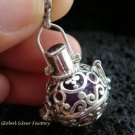 925 Sterling Silver 18 MM Harmony Ball Pendant HB-294-KT