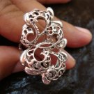 Unique Sterling Silver Filigree Ring SR-154-KT