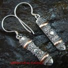 925 Silver & 22kt Gold Plated Earrings GPE-116-KT