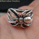 Sterling Silver Spider Charm Design Ring SR-190-KT