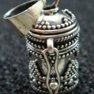 Sterling Silver Bali Cremation Perfume Pendant PP-418-NY