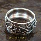 Sterling Silver Balinese Ring SR-131-KT