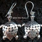 Sterling Silver Turtle Earrings SE-163-KT