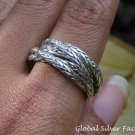 Sterling Silver Interlocking Rings SR-221-PS