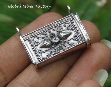 Sterling Silver Balinese Prayer Locket Pendant LP-247