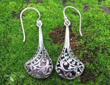 Bali Filigree Dangle Earrings SE-283