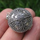 Bali Filigree Silver Locket Keepsake Pendant LP-259