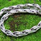 Sterling Silver Woven Design Bracelet MJ-136