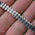 Solid Silver Unisex Bracelet MJ-138