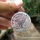 Sterling Silver Tree of Life Inspired Pendant SSP-161-KA