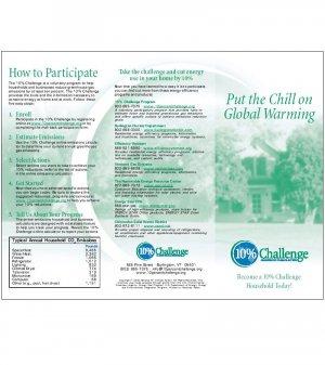 10% Challenge residential brochure