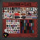 Leather & Lace Digital Scrapbook Kit
