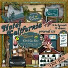 Hotel California Digital Scrapbook Kit