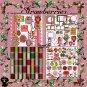 Strawberries Digital Scrapbook Kit