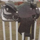 LOOKOUT SADDLE CO. SILVER SHOW SADDLE