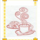 flour sack set of 2  coffee break
