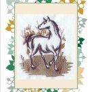 flour sack set of 2  horse