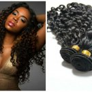 Virgin Peruvian Human Hair Extensions 5A Deep Wave 20' inch 2 Pack Bundle